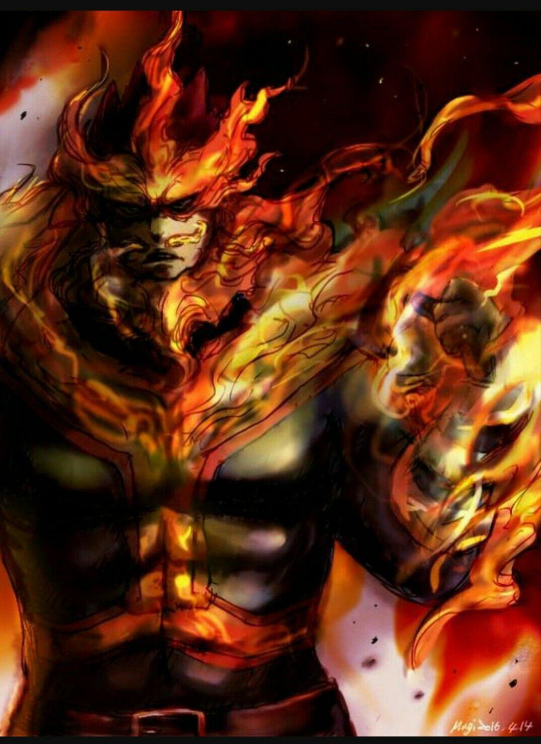Endeavor Enji Todoroki My Hero Academia Episodes My Hero Academia Hero Wallpaper