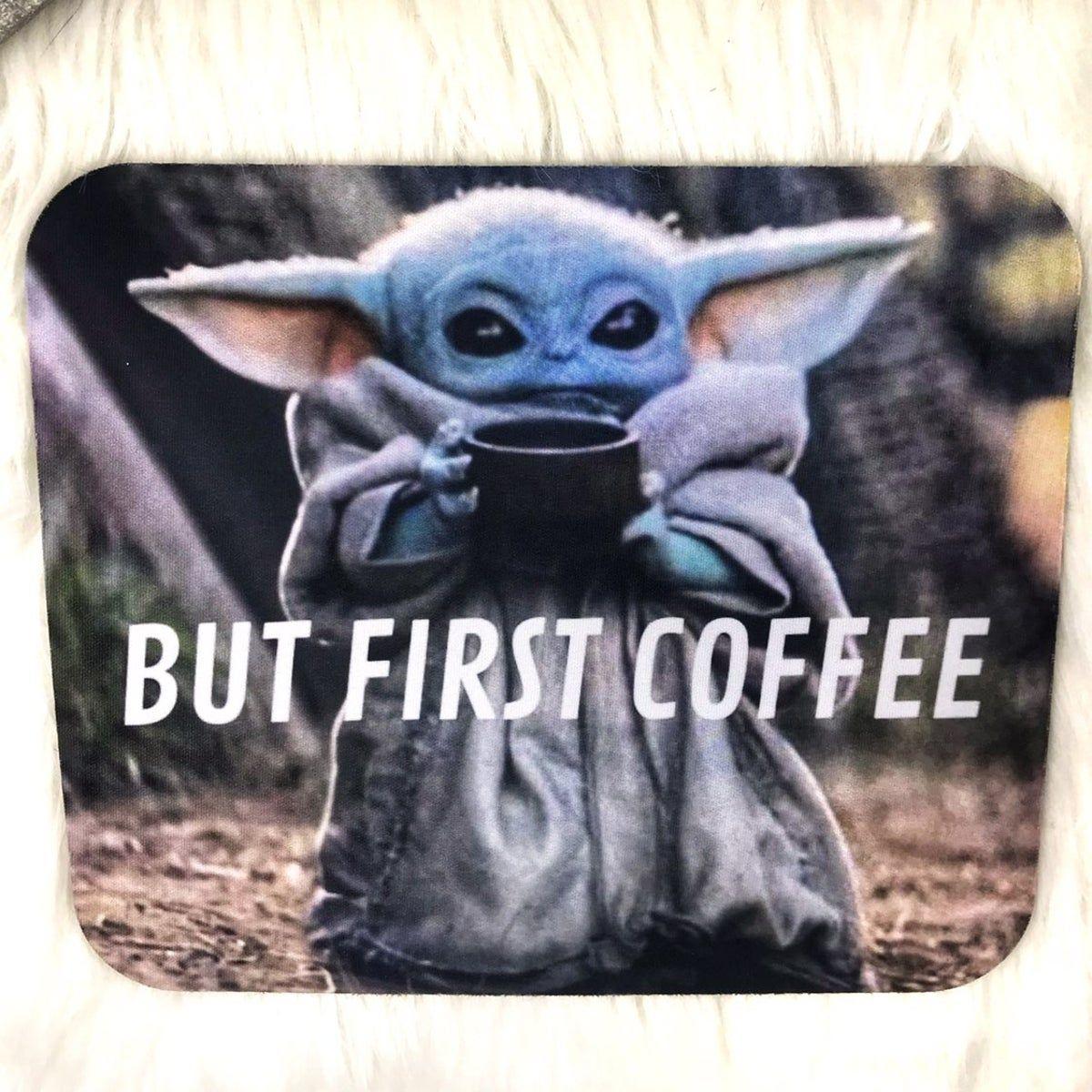 Baby Yoda Mouse Pad Nwt Yoda Wallpaper Yoda Mouse Pad
