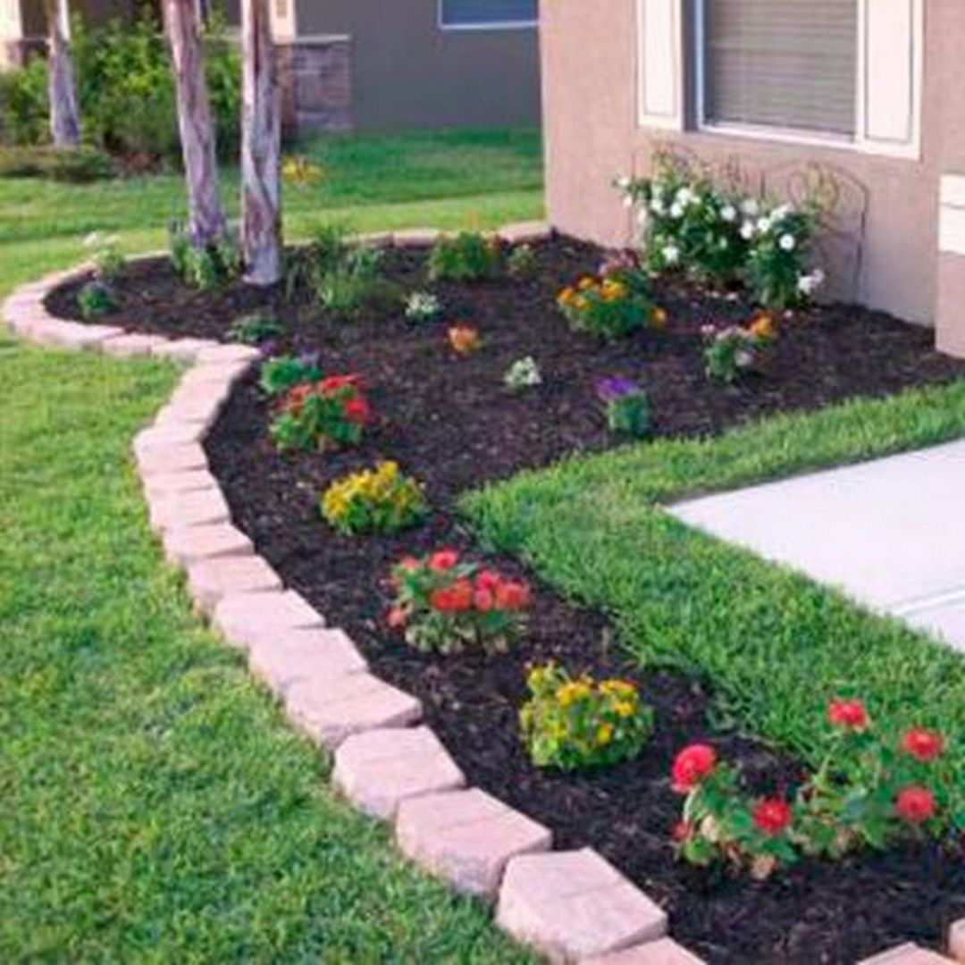 pin front yard landscaping