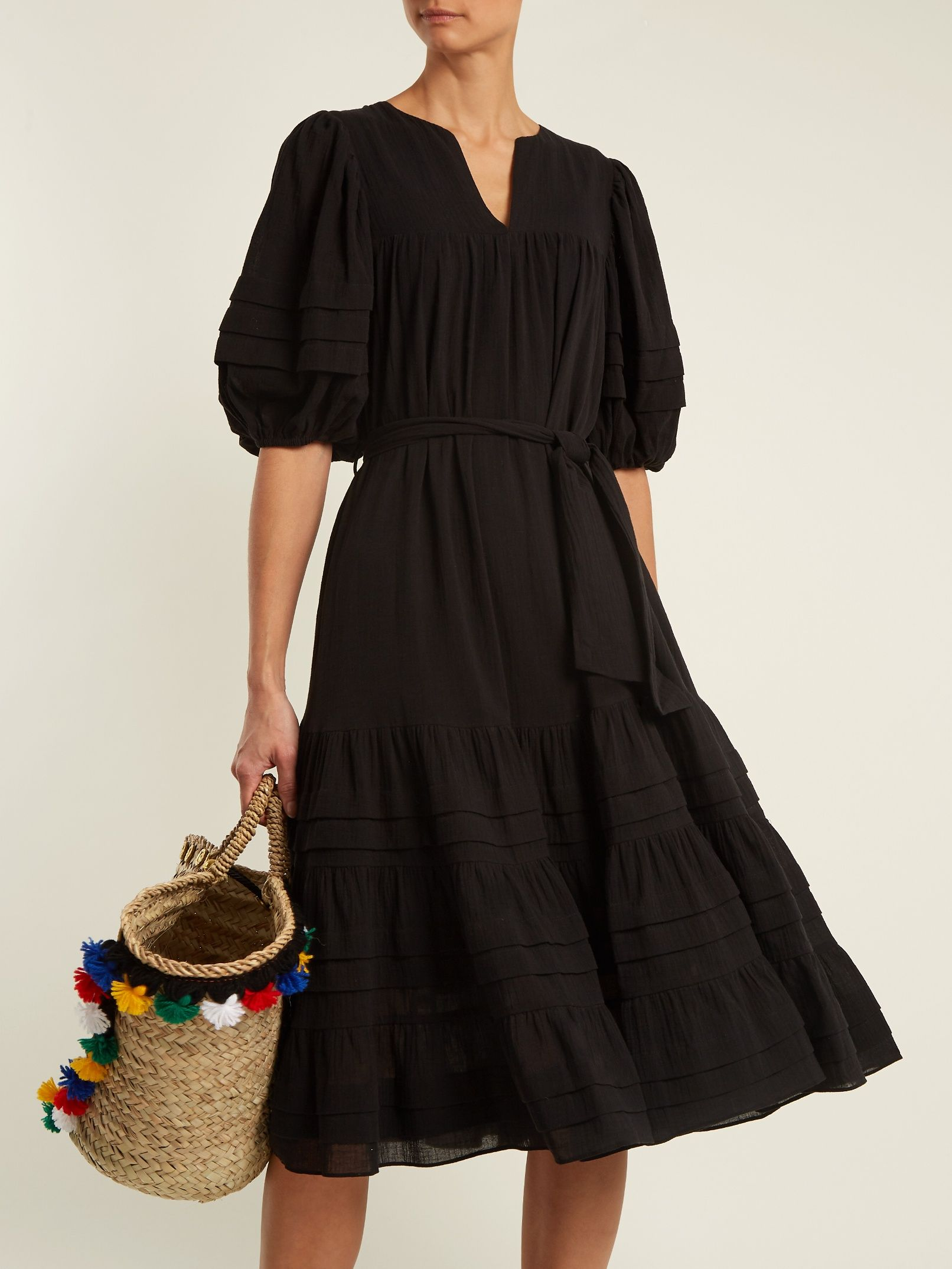 Click here to buy Zimmermann Prima belted cotton dress at MATCHESFASHION.COM