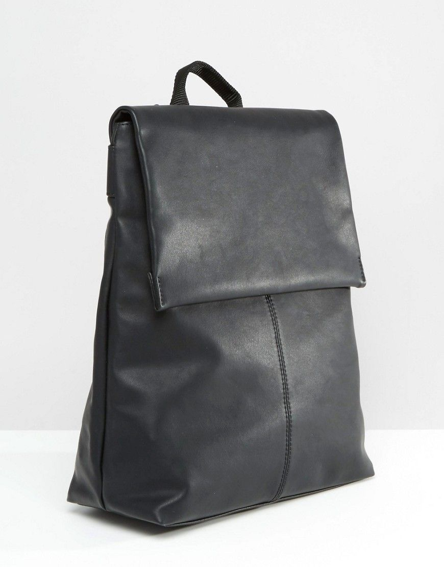 32841d45a Image 2 of Monki Minimalist Foldover Backpack | Backpacks ...