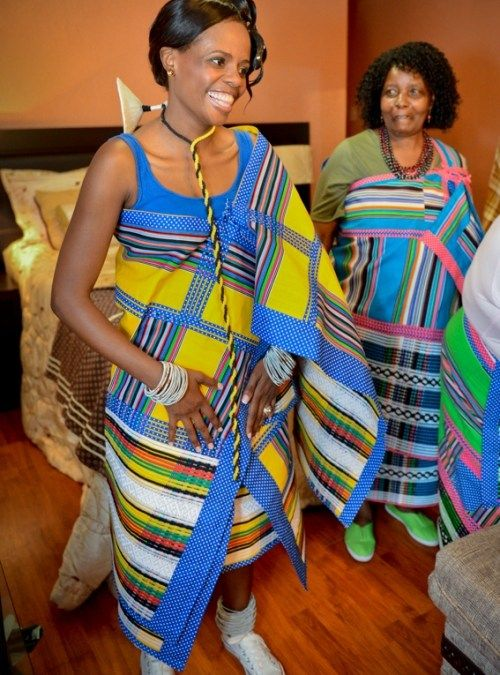 Sesotho Traditional Patterns Dresses