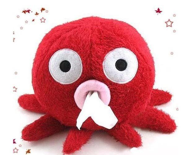 Octopus Tissue Box