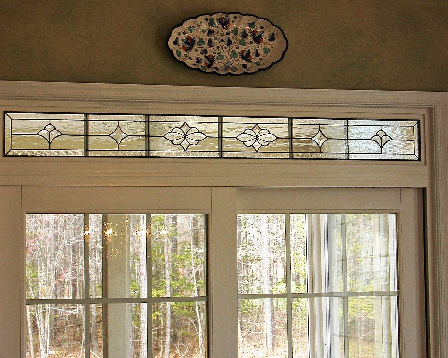 Augst design.  #transom #home decor #artsy #beautiful #custom-made #creative #elegant #window #stained glass