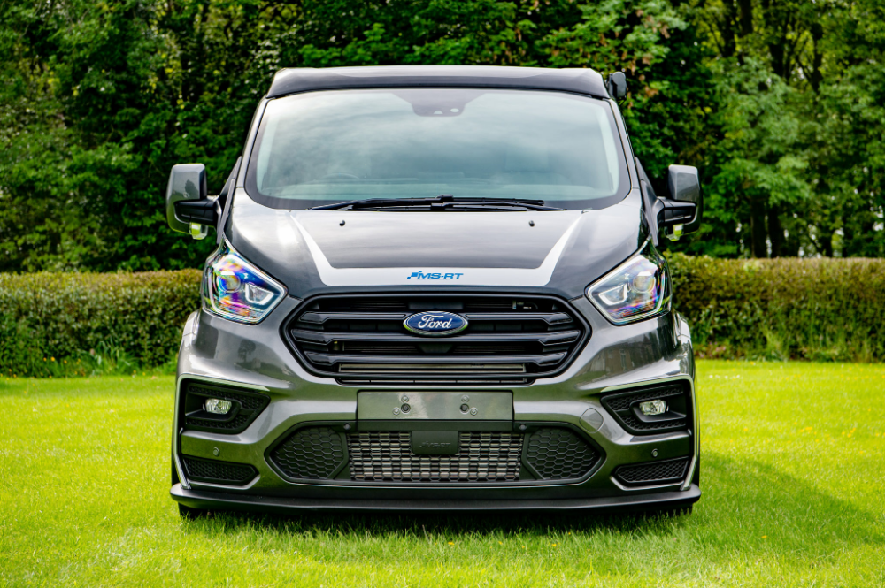 Ford Fan Takes Delivery Of Custom Campervan Ford Transit