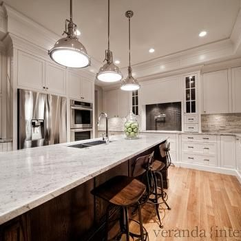 Best White Granite Countertops Transitional Kitchen Veranda 400 x 300