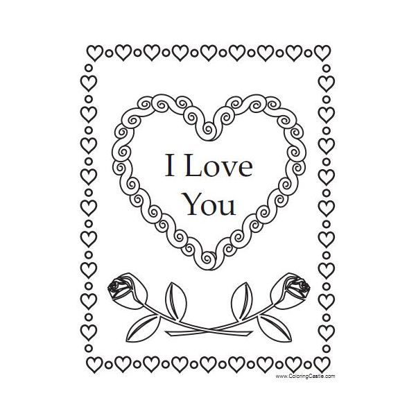 Coloring Sheets You Can Print 10 Free Valentine's Day