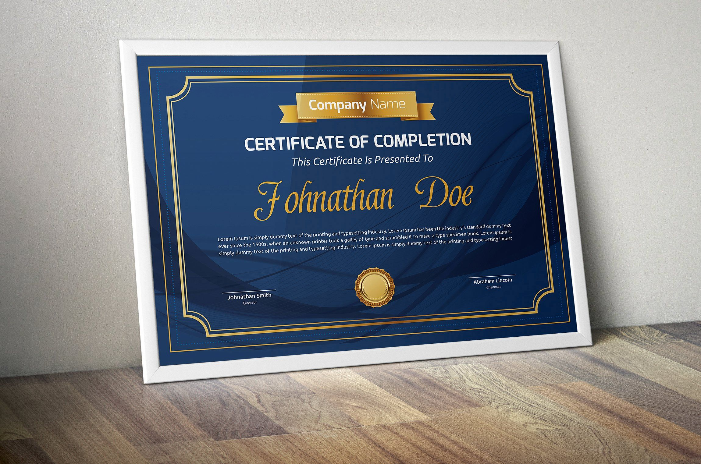 Certificate by todorovic designs on creativemarket