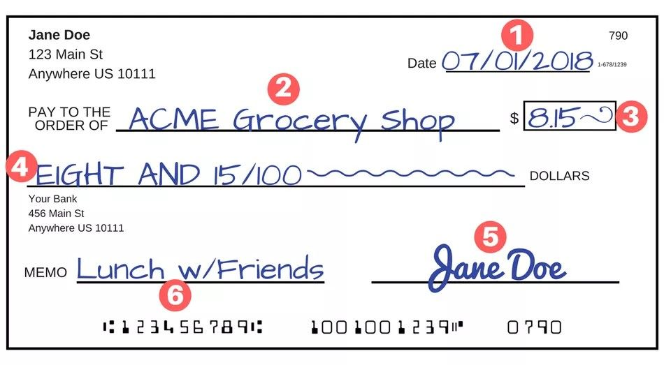 How To Write A Check With Cent Order Checks Online Check And Balance Writing