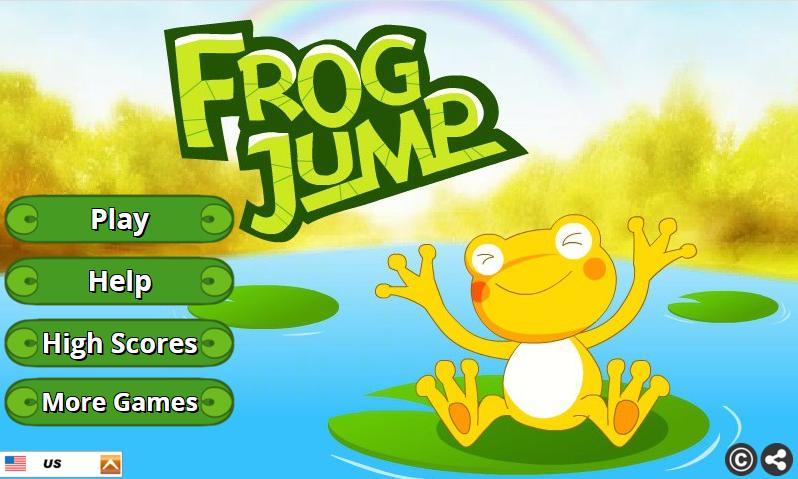 "Play ""Frog Jump"" Arcade Game...."