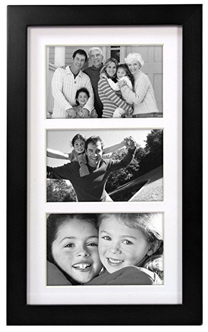 Malden International Designs Matted Linear Classic Wood Picture ...