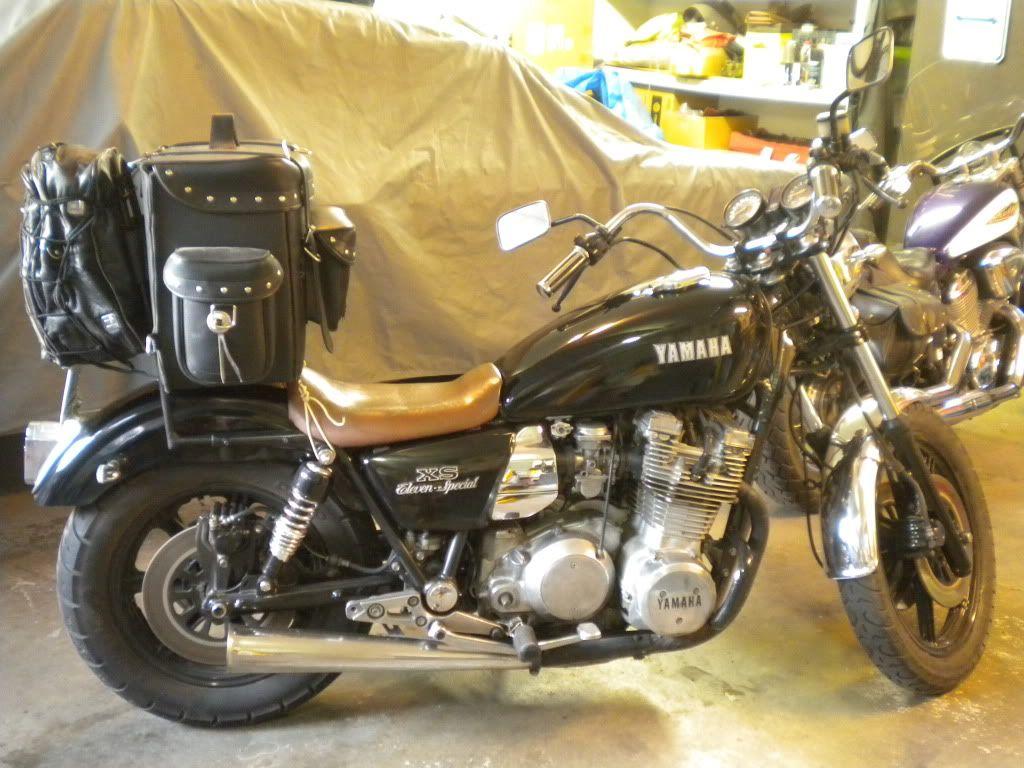 Custom rear fender on xs1100 | xs1100 | Motorcycle, Vehicles
