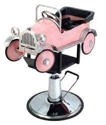 kids salon chair posture deluxe wooden kneeler pink car kid s hydraulic pibbs 1811 ideas cute retro vintage 649 00