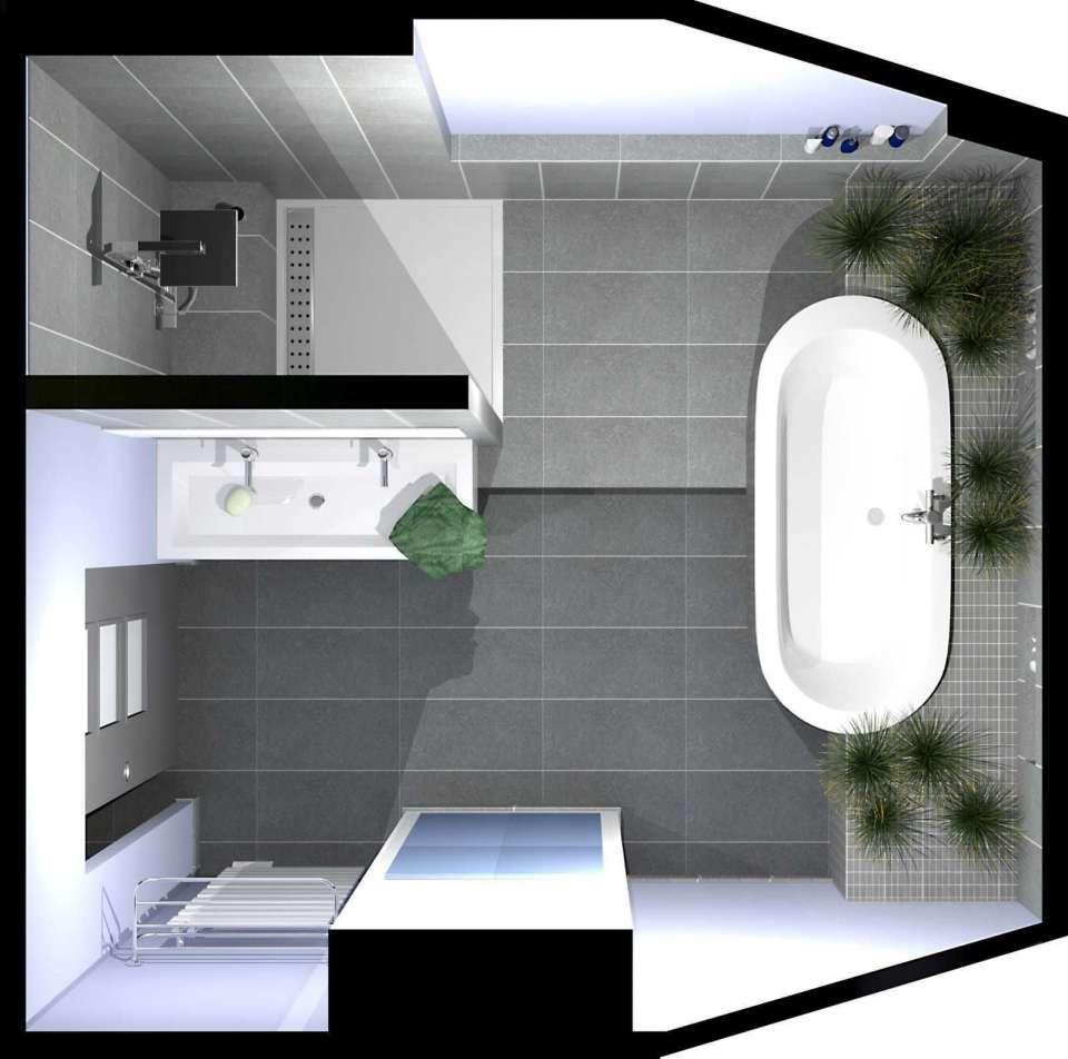 10 Salle De Bain 7m2 Designs De Salle De Bain En 2020 Avec