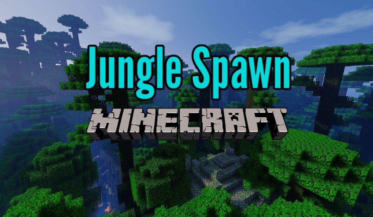 Cool Jungle Spawn, Jungle Temple Ravine Minecraft Seed 1 9
