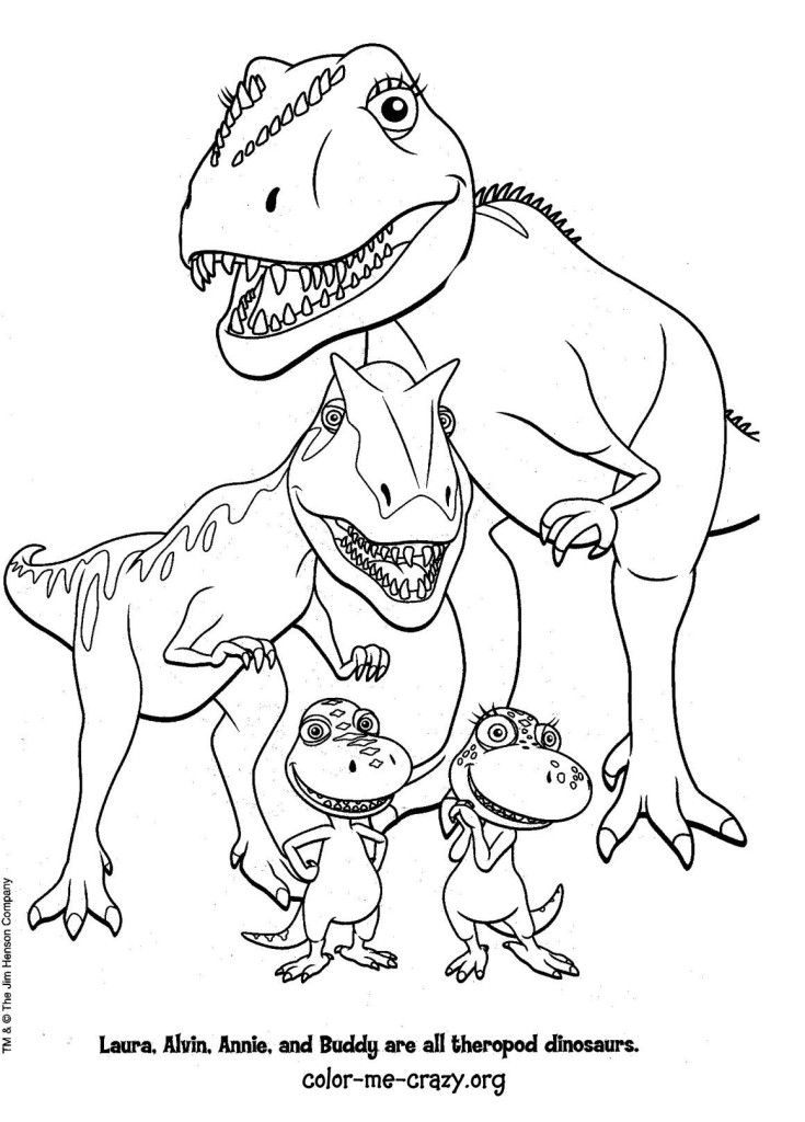 810 Free Printable Coloring Pages Dinosaurs For Free