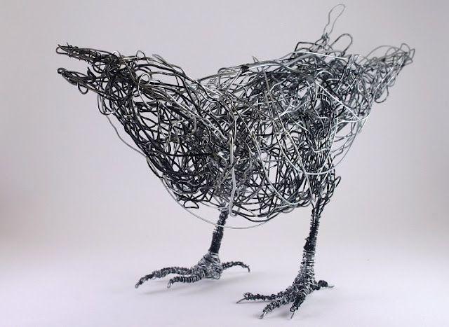 Flor de Lisboa: Wire art | Wire | Pinterest | Draht, Pappmache und ...