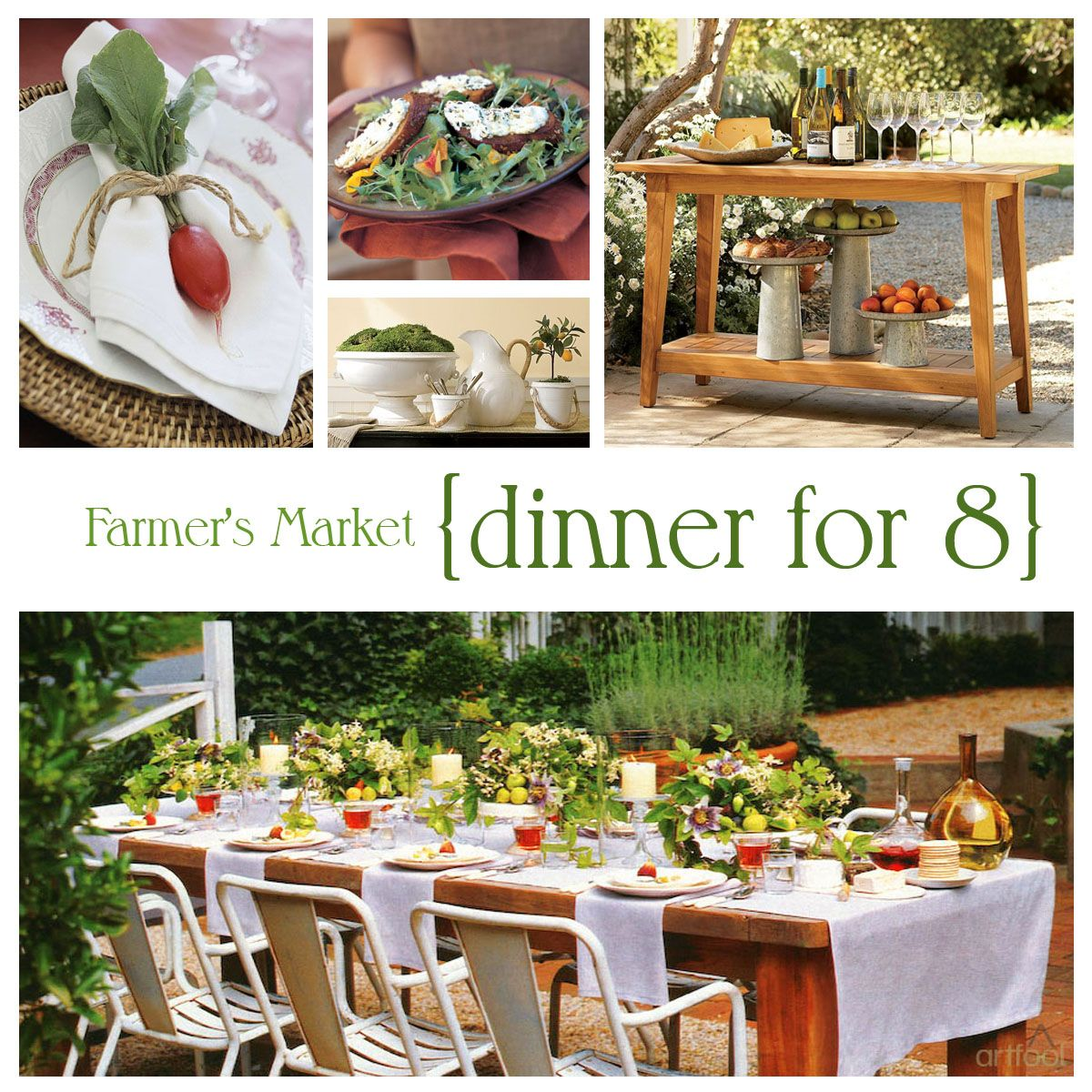 Ordinary Spring Dinner Party Ideas Part - 7: Farmers-Market-Party-Theme Free Farmers Market Directory Farmersme.com |  Farmers Markets | Pinterest | Farmers, Dinners And Snacks