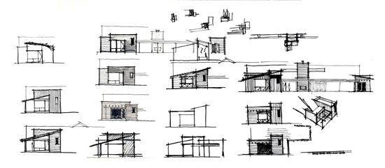 Architecture Design Technical Process architecture + process: sketching | villa park, sketches and