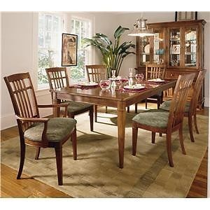 Thomasville Furniture Bridges 2 0 Cherry Dining Set Thomasville