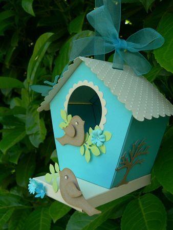 Aper u n 1 et premier cadeau scrap la carte le blog diy fait maison pinterest - Gabarit maison en carton ...