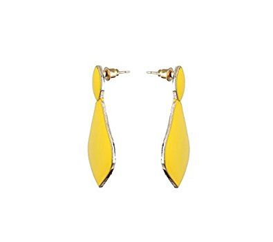 Buy Waama Jewels Chinese Rajwada Theme Bollywood Inspired Jaipur Handmade Jewellery Latest Earrings for Women And Girls (Yellow) Online at Low Prices in India   Amazon Jewellery Store - Amazon.in