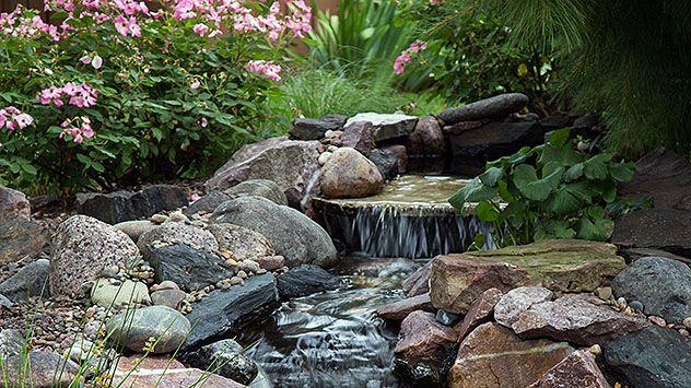 8 Tips for Building a Backyard Waterfall | Waterfalls ...
