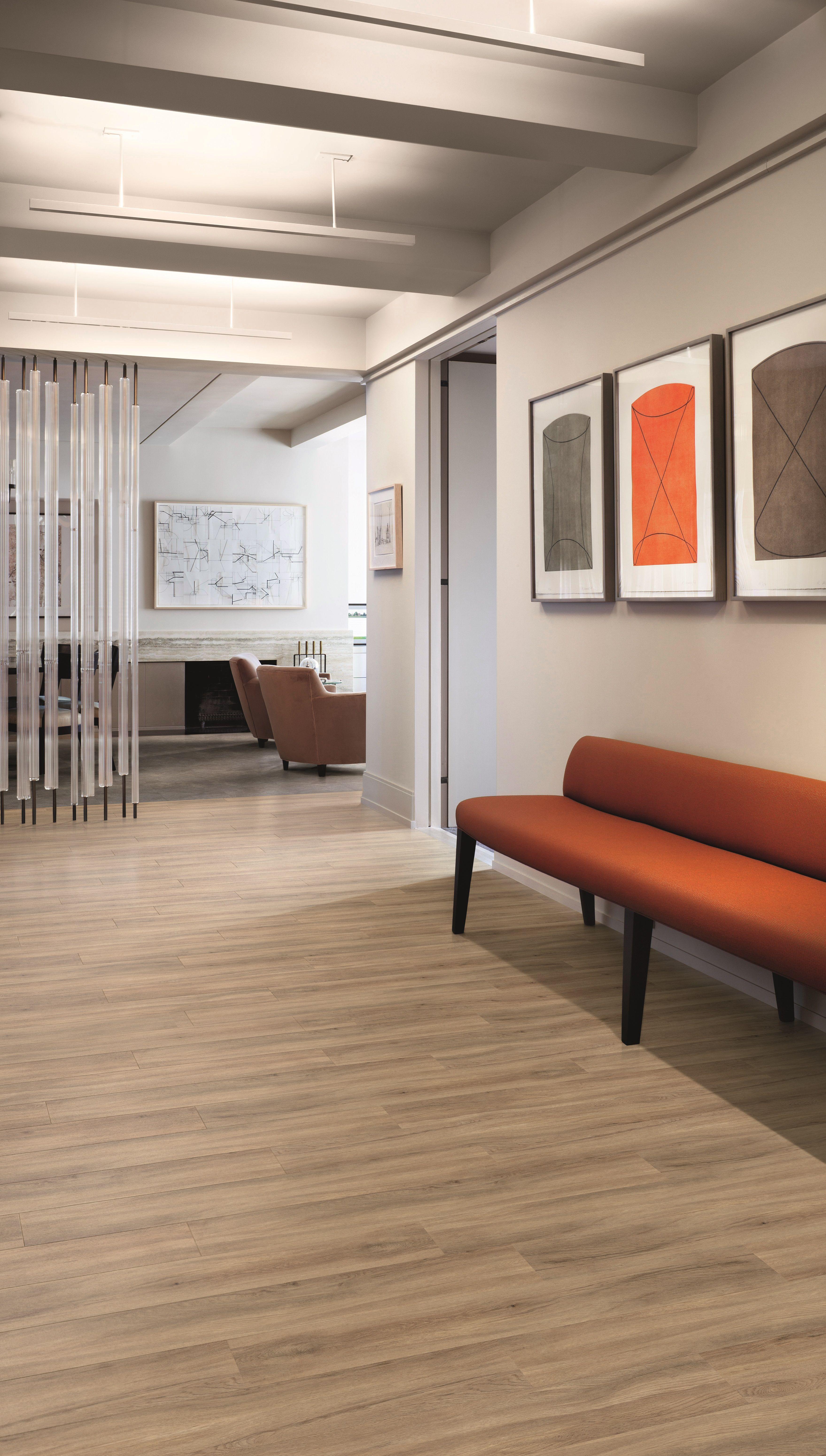 Fusion Flooring 1062 Oxford Light Oak bold New York