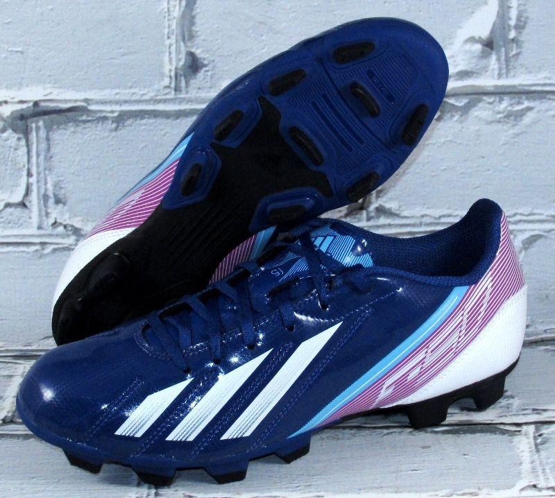 Mens adidas f5 trx fg soccer cleats size 85 bluepink