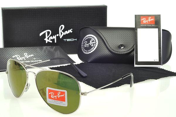 Ray Ban Ultra Limited Edition Aviator Sunglasses Silver Cheap $13.8