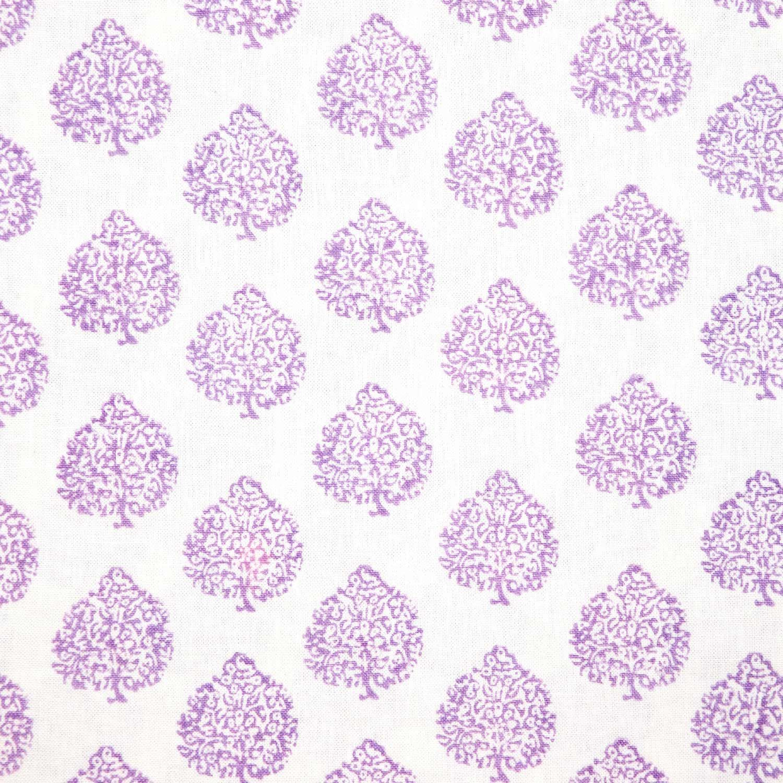 John Robshaw Fabric John Robshaw Textiles  Mali Lavender  Blockprinted Linens