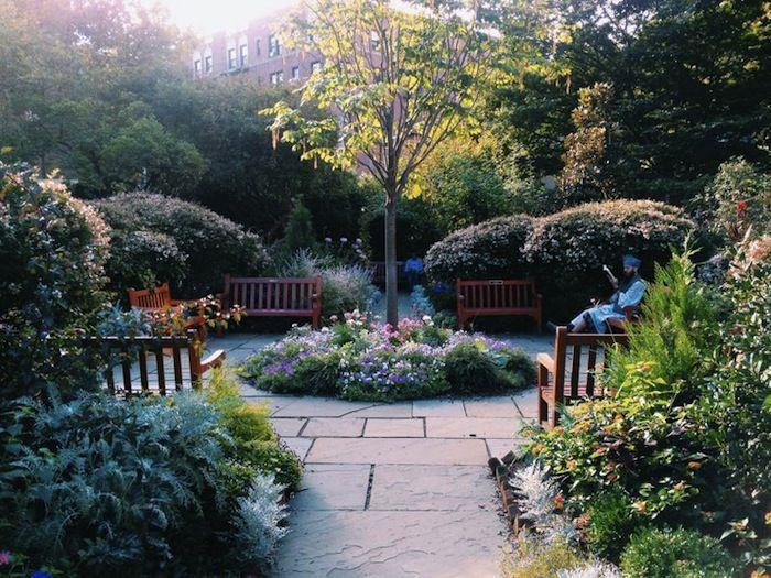 Secret Gardens in New York St Luke in the Fields garden