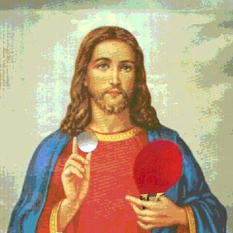 Jésus ping pong - Celebrity Ping Pong (Table Tennis ...