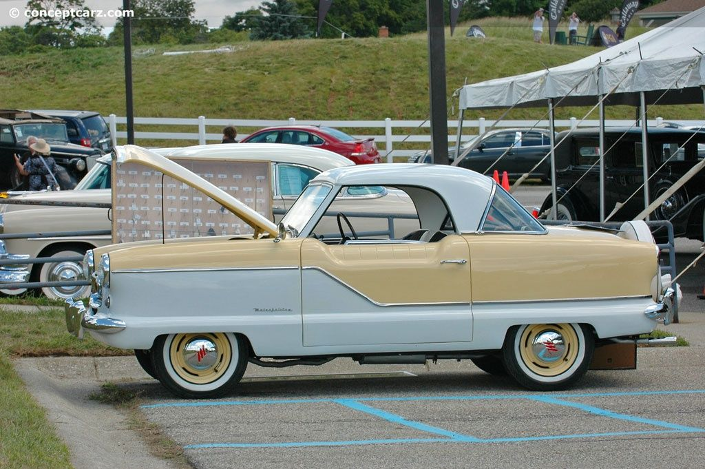 nash+automobiles   1958 Nash Metropolitan news, pictures ...