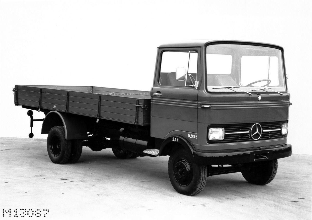 Mercedes-Benz-Blog TRIVIA: Small but powerful: The LP 608 set a ...