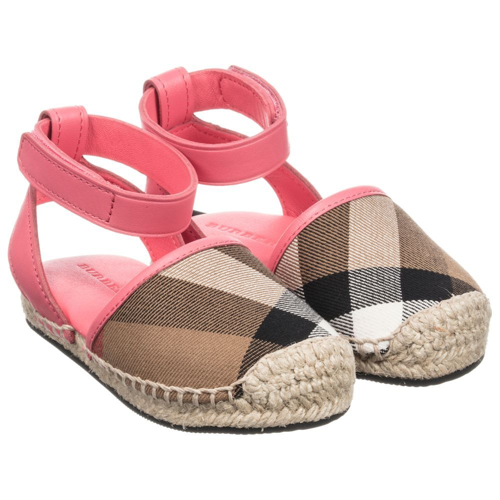 7b5f70694f3 Girls  New Perth  Espadrilles for Girl by Burberry.