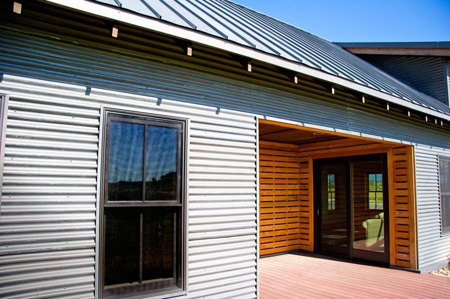 Pin By Dinah Dybas On Rusty Cabins Corrugated Metal Siding Metal Siding Metal Buildings