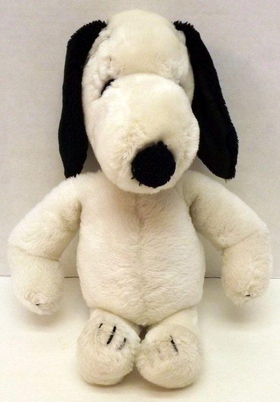 "VINTAGE Peanuts 15/"" /""SNOOPY/"" Plush Dog   VERY SOFT"