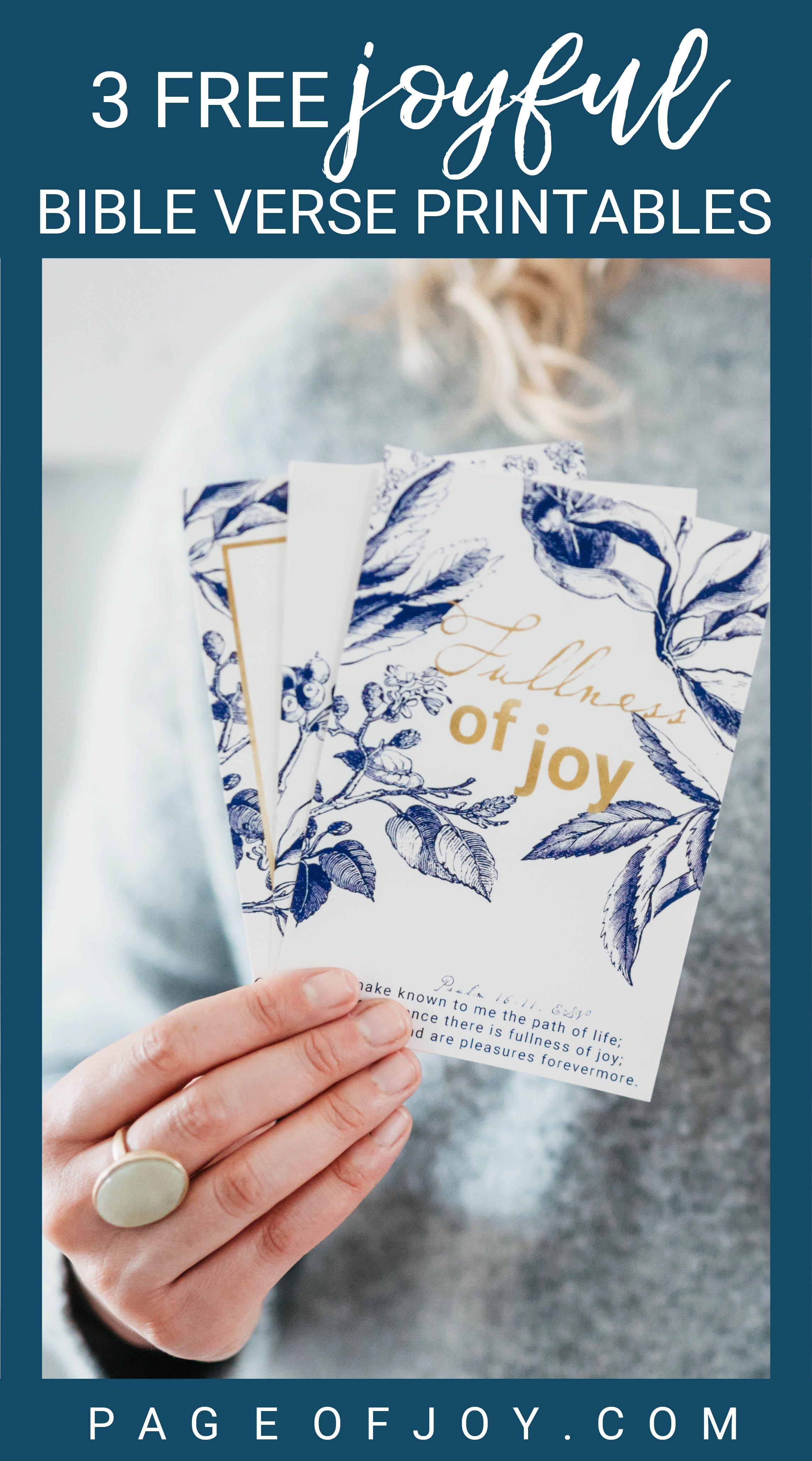Home Page Of Joy Printables Bible Bible Verses Printable Bible