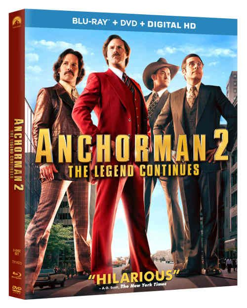 Anchorman 2 The Legend Continues On Blu Ray With Images Anchorman