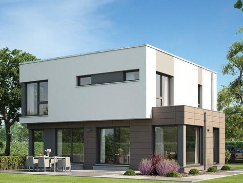 Genial Hier Finden Sie Ihr Einfamilienhaus Evolution 143 Fertighaus Mit Flachdach,  Das Ihnen M² Wohnfläche Bietet.