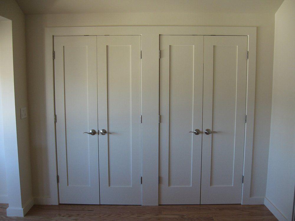 Shaker Style Closet Doors Yelp Bifold Closet Doors French