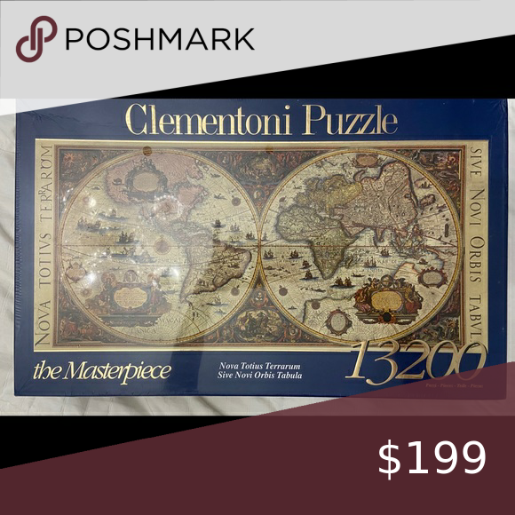 13 200 Clementoni Puzzle Difficult Puzzles Clementoni Puzzle Things To Sell