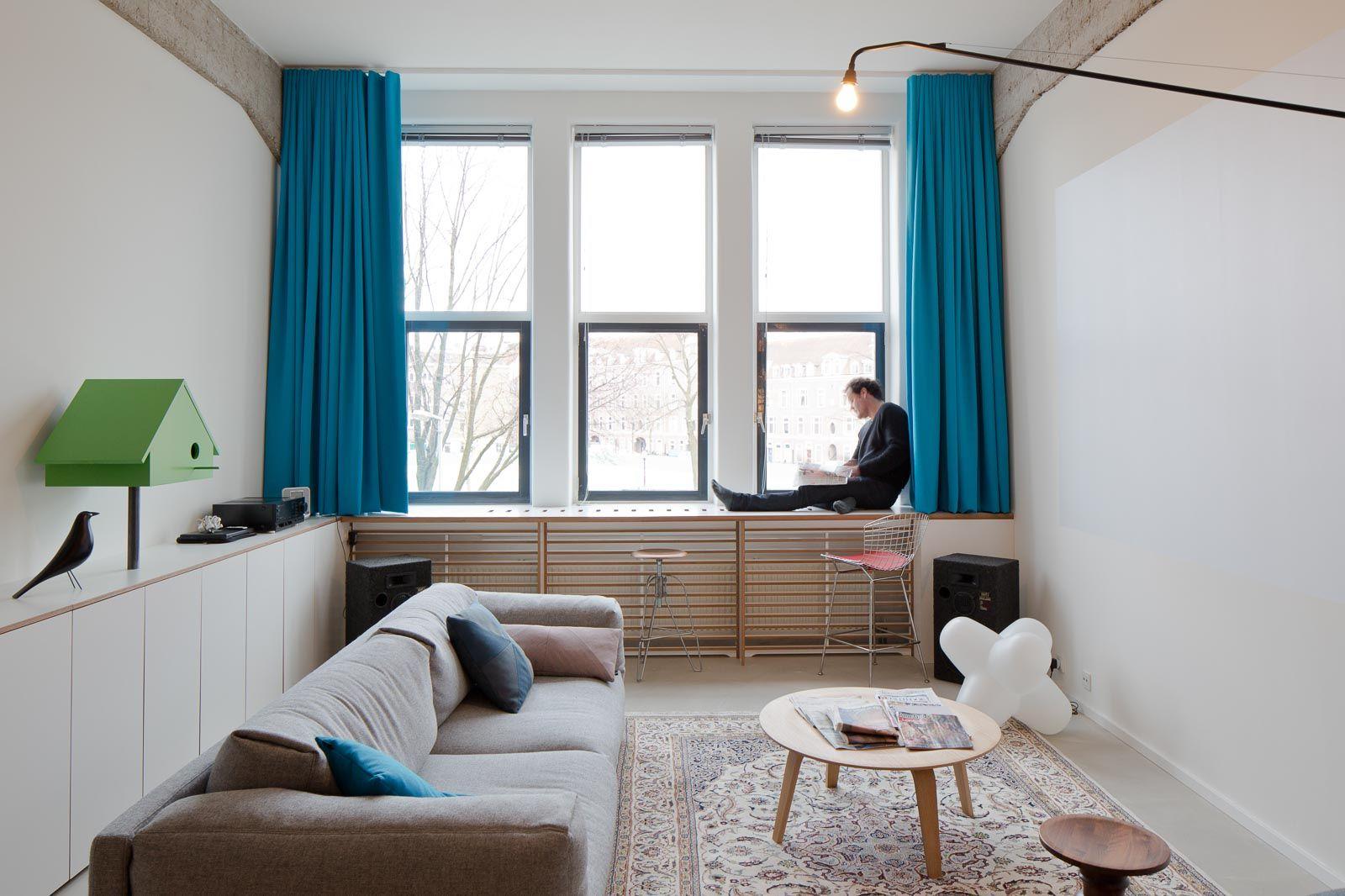 Vondelpark Loft – Standard Studio | Living | Pinterest | Lofts ...