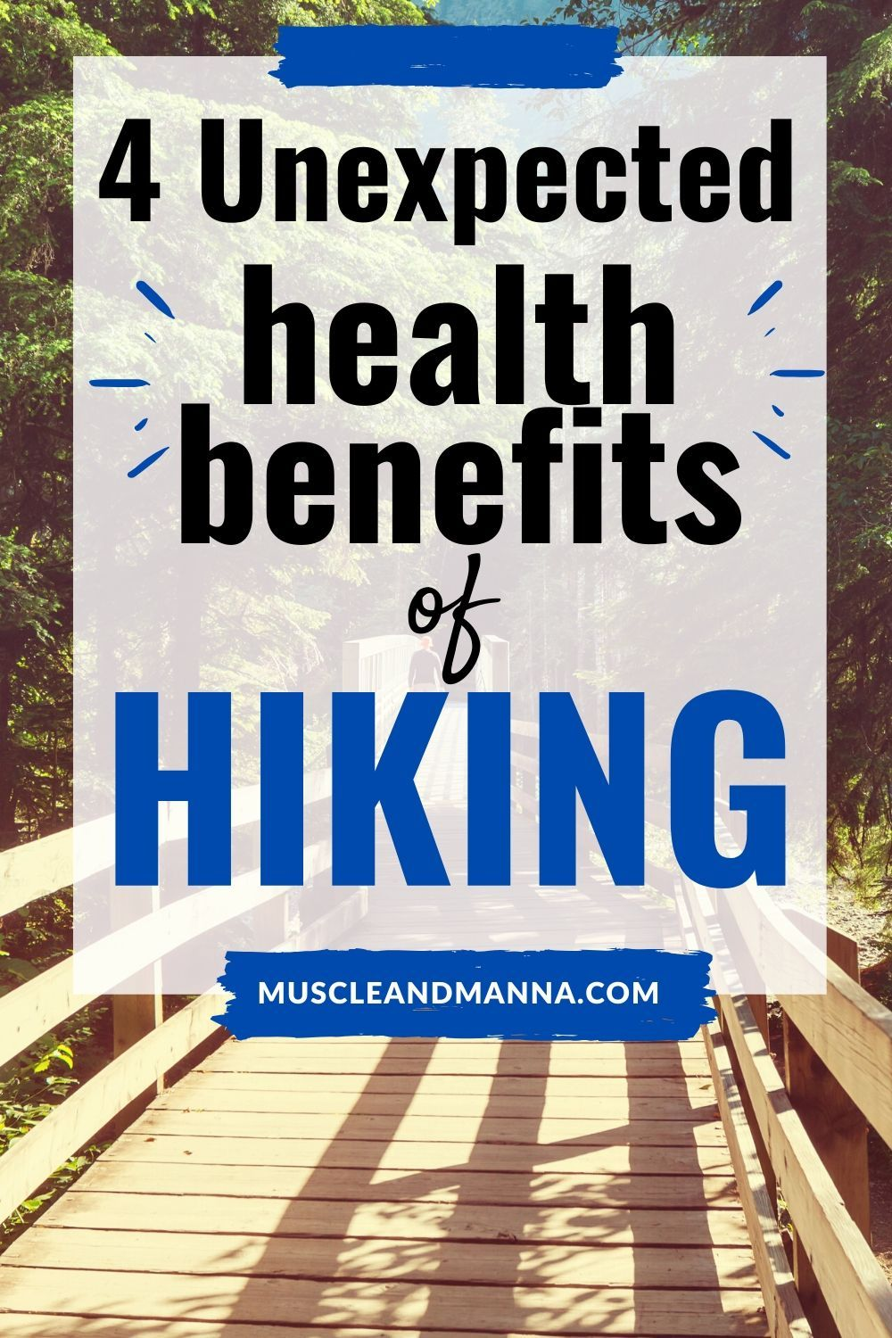 Hiking provides an array of health benefits here are 4