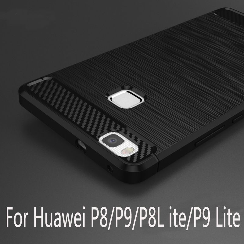 럭셔리 화웨이 P9 P9 라이트 P8 라이트 소프트 tpu 실리콘 보호 다시 커버 화웨이 어 센드 P8 라이트 P9lite 전화 쉘