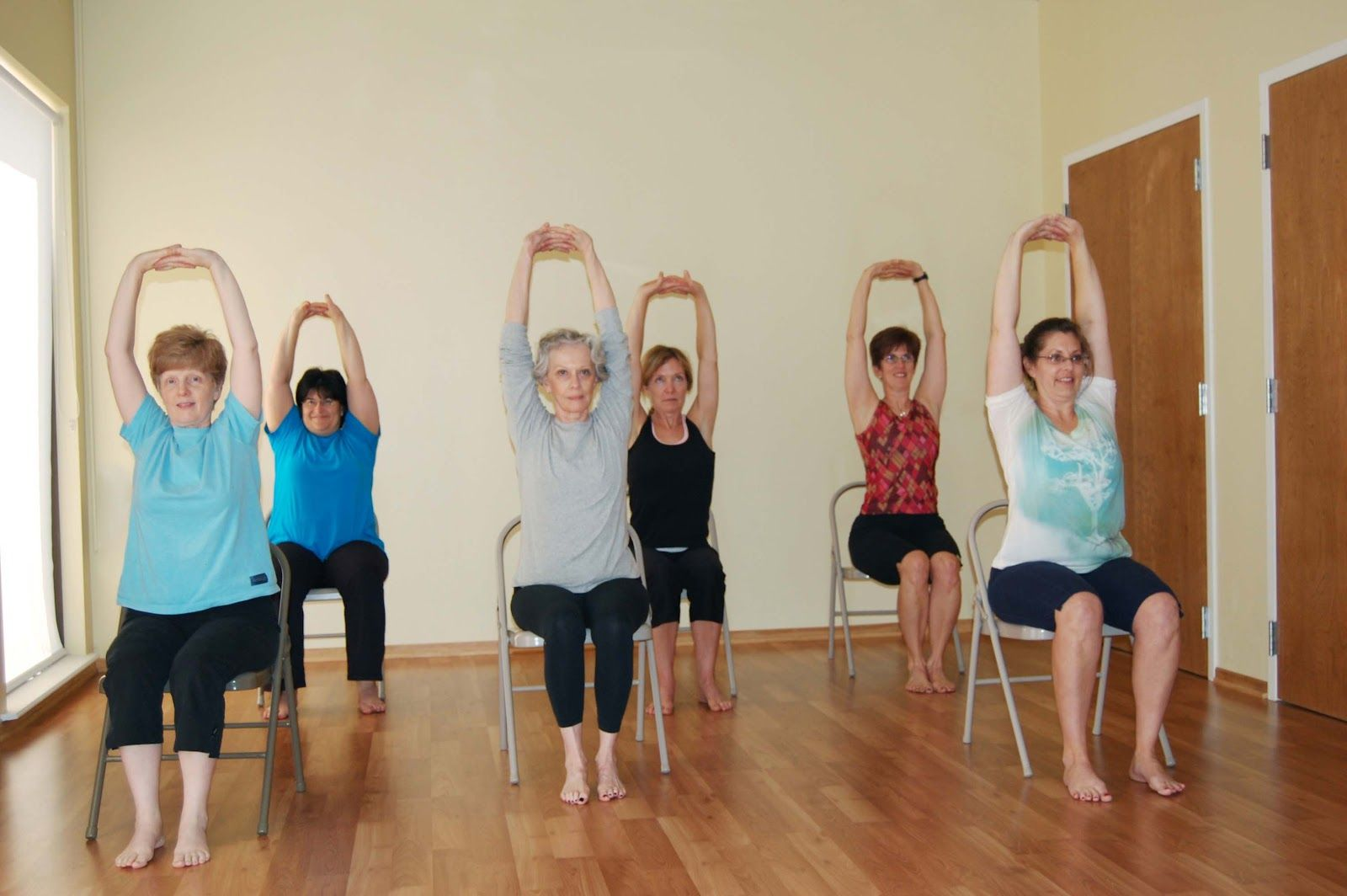 Yoga For Heart Health Yoga for seniors, Chair pose yoga
