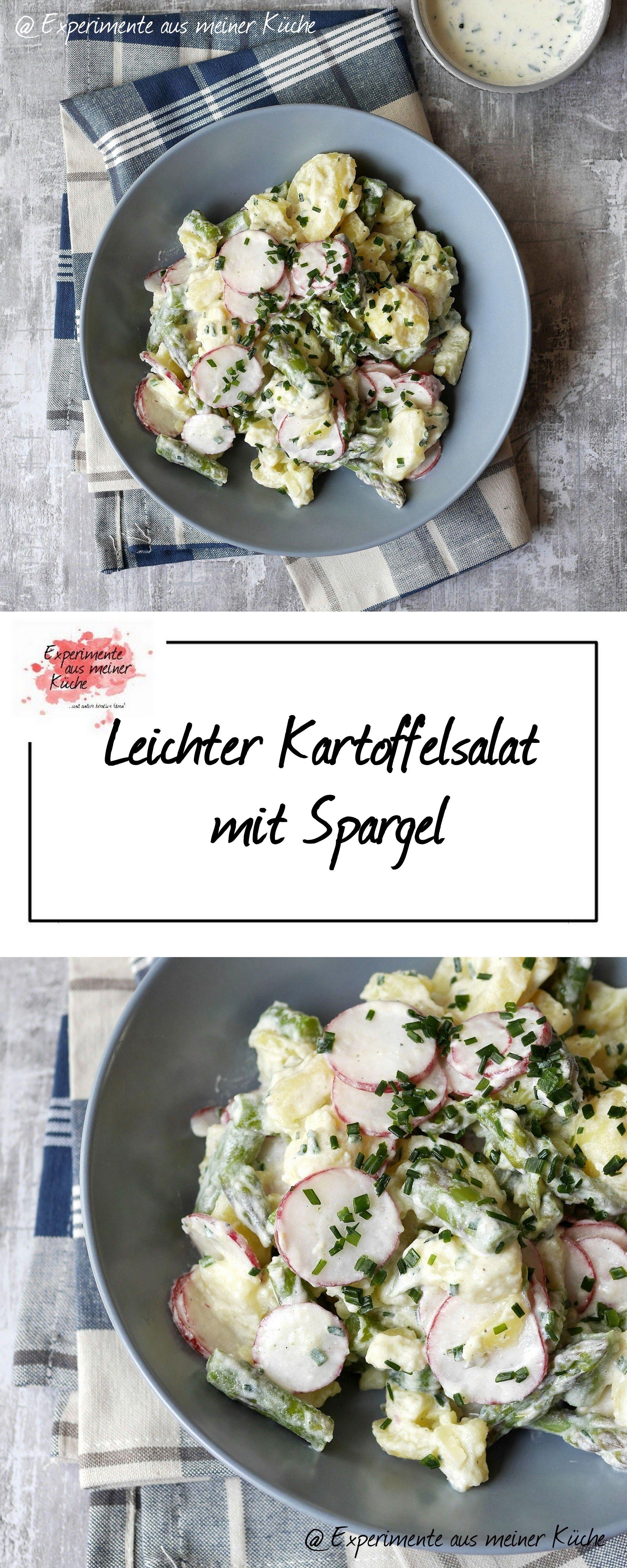 leichter kartoffelsalat mit spargel leichte kartoffelsalate spargel kochen rezept und. Black Bedroom Furniture Sets. Home Design Ideas