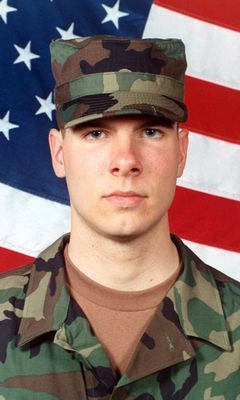 Army Pfc. Stephen C. Benish  Died November 28, 2004 Serving During Operation Iraqi Freedom  20, of Clark, N.J.; assigned to the 1st Battalion, 503rd Infantry Regiment, 2nd Brigade Combat Team, 2nd Infantry Division, Camp Howze, Korea; killed Nov. 28 when he received enemy fire while on a dismounted patrol in Ramadi, Iraq.