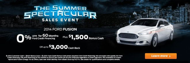 Summer Spectacular Sales Event Shaker Family Ford Lincoln Your